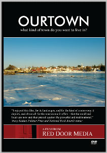 The cover of the OurTown documentary